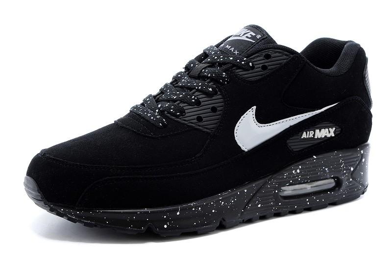 Air Max 90 Pour Femme Noir Et Blancx,Nike Air Max 90 noir et blanc ...