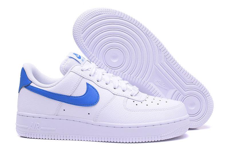 air force 1 blanche et bleu femme,Nike Air Force 1'07 blanche ...