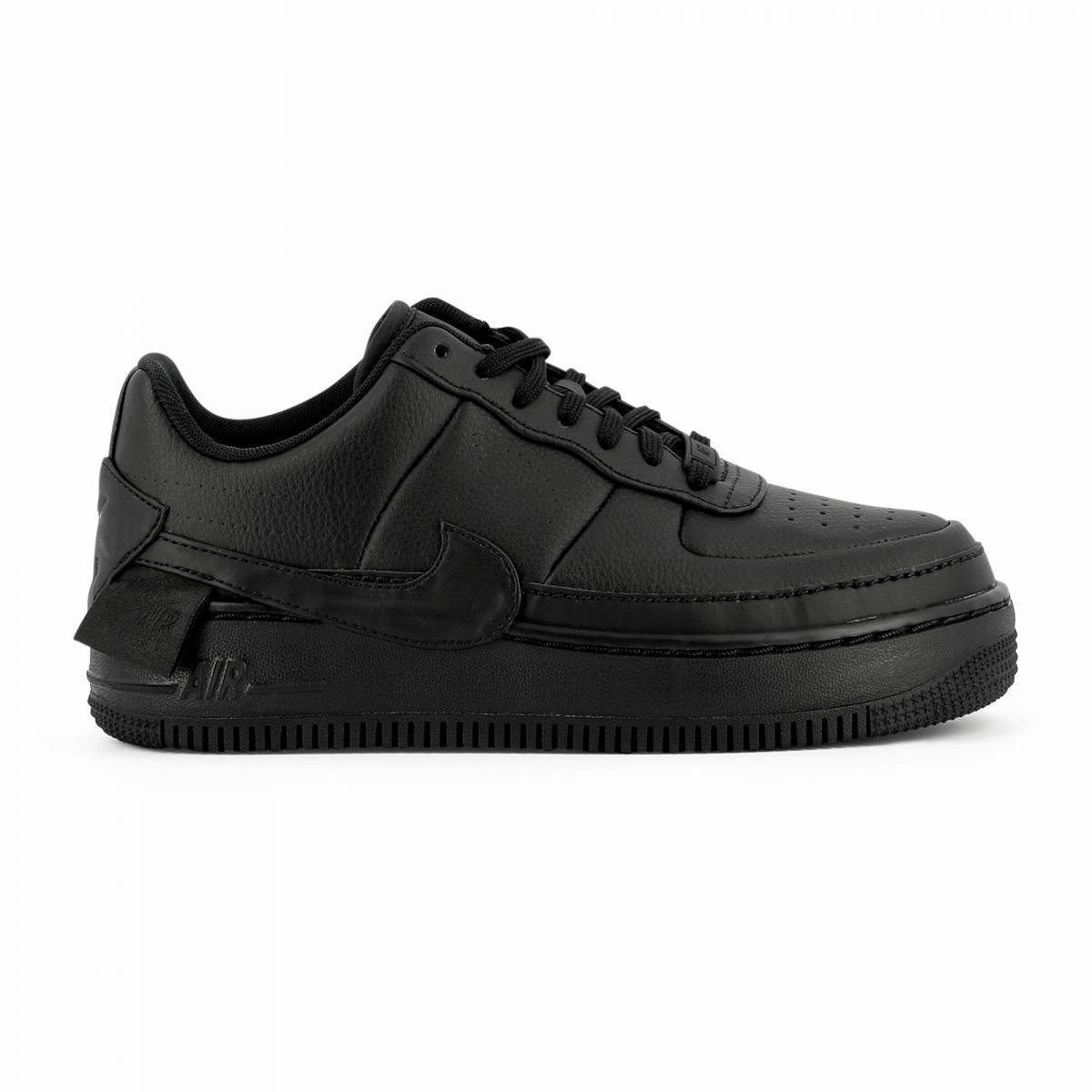 air force noir femme,Nike AIR FORCE 1 '07 W Noir - Chaussures Baskets  basses Femme 96