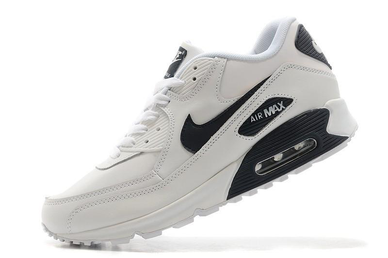 air max 90 homme blanc,Nike AIR MAX 90 LEATHER Blanc - Chaussures ...