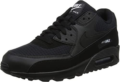 air max noir homme noir,Nike AIR MAX 90 LEATHER Noir - Chaussures ...