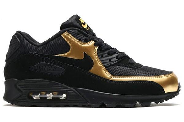 homme air max 90 noir et dor,Baskets Nike Air Max 90 Essential ...