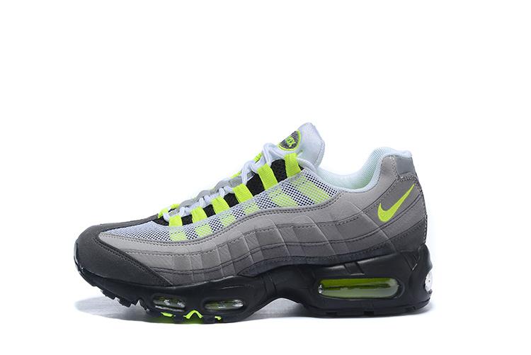 nike air max 95 gris et noir et orange homme,Nike Air Max 95 ...