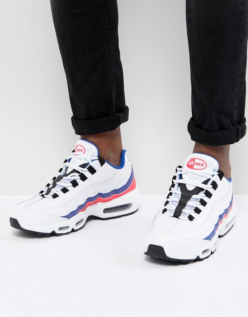 nike air max 95 rouge et blanche homme,Chaussure Nike Air Max 95 ...