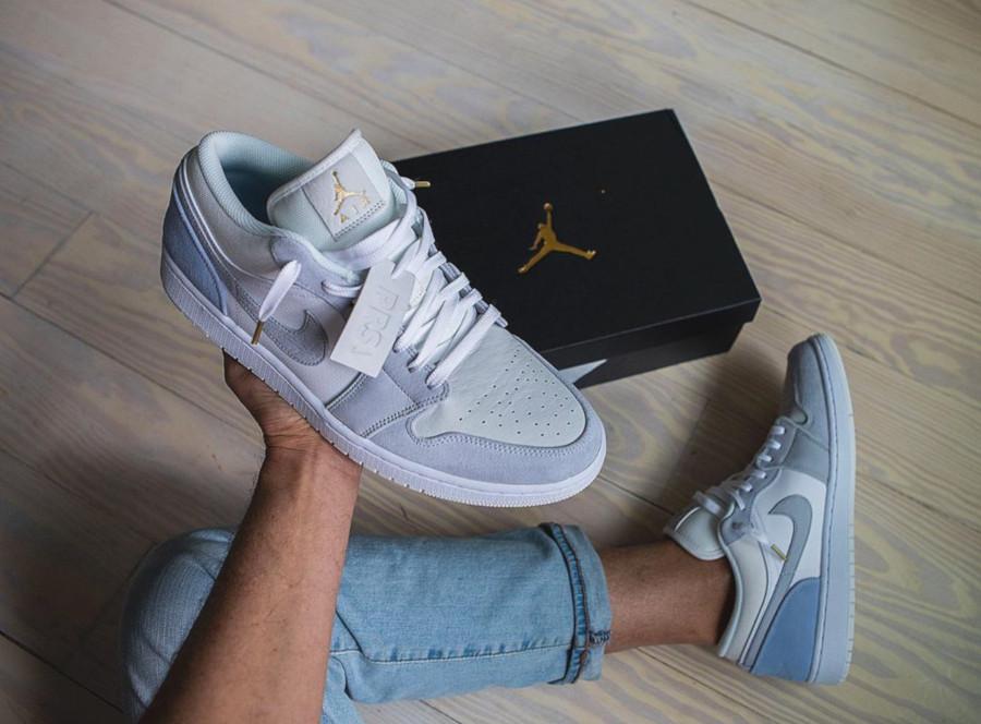 basket air jordan 1 low femme
