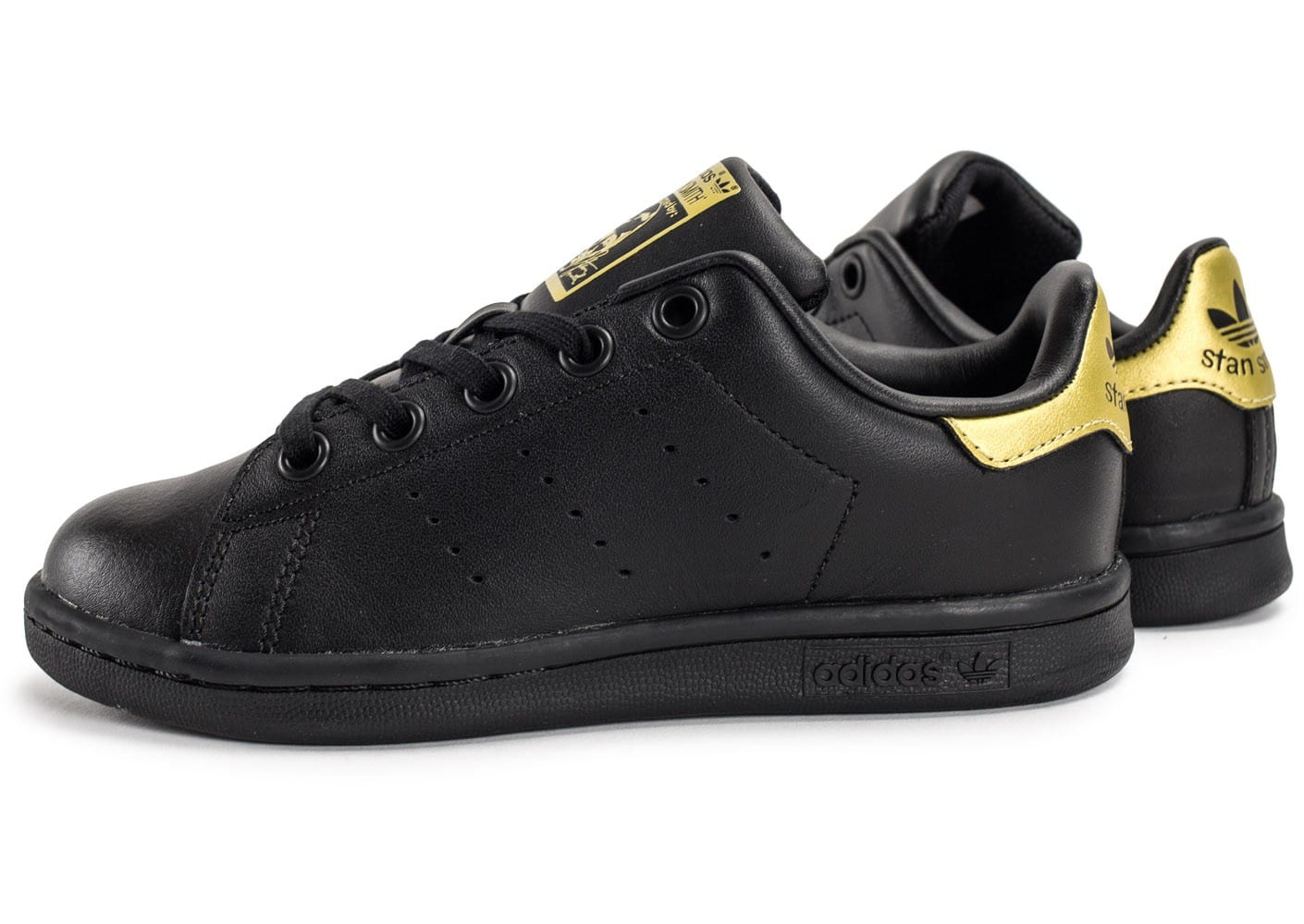 adidas stan smith noir et or