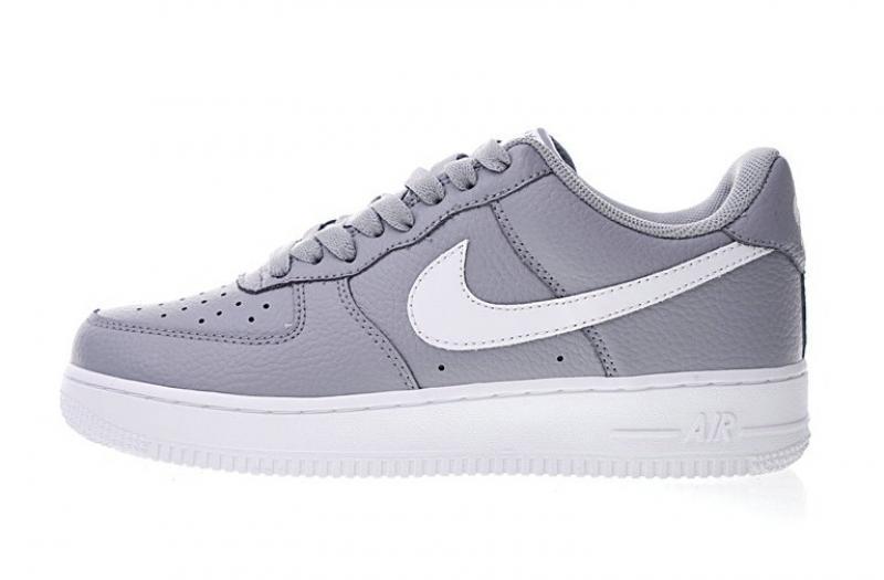 nike air force 1 femme blanche et grise